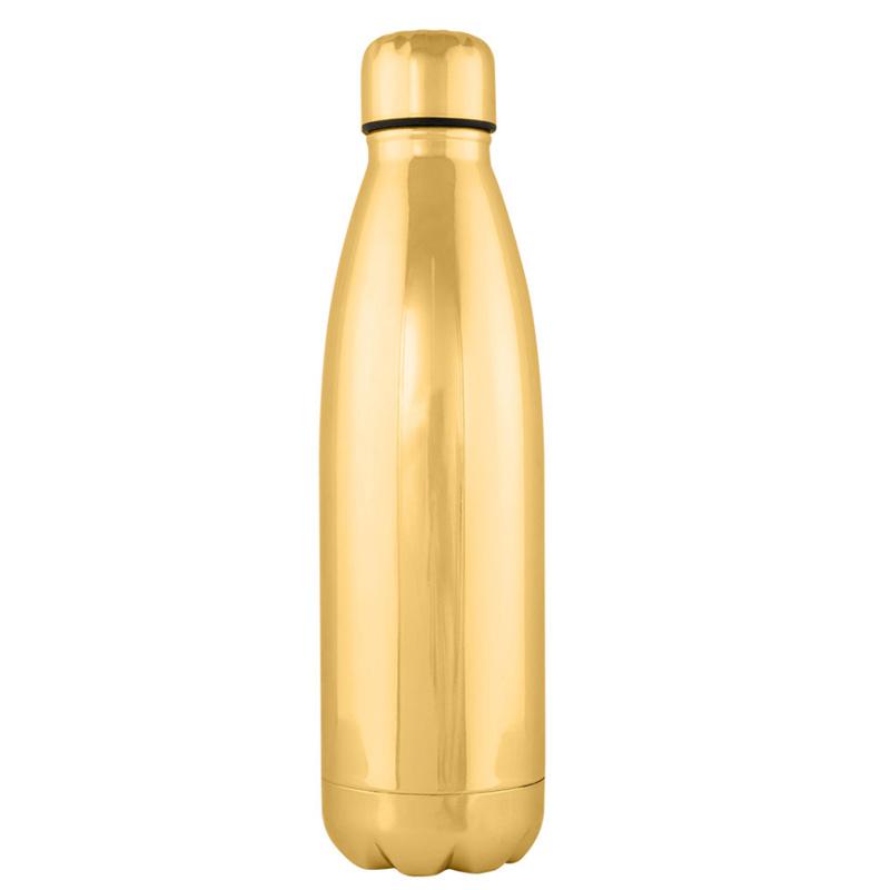 Botella premium H2O, dos colores, 750ml, acabado brillante botella moda regalo boda acero