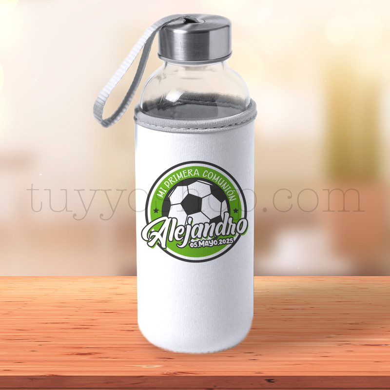 Black Friday 2019 botella personalizada comunion pelota