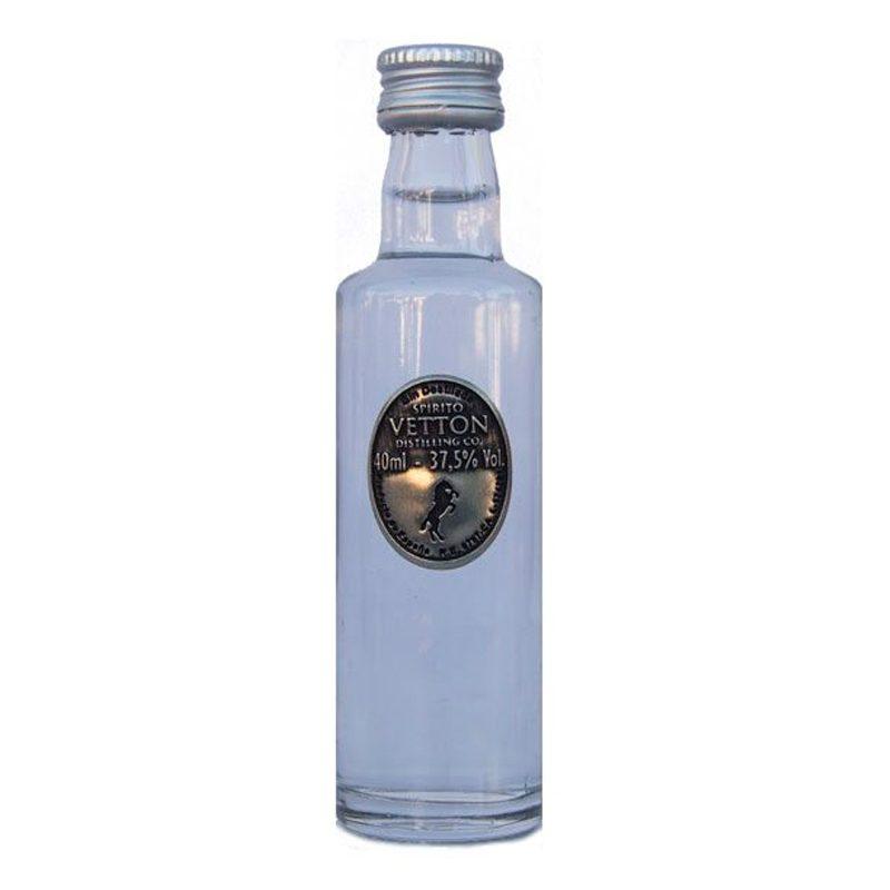 Botellita miniatura Ginebra Extra Dry Spirito Vetton. 40ml