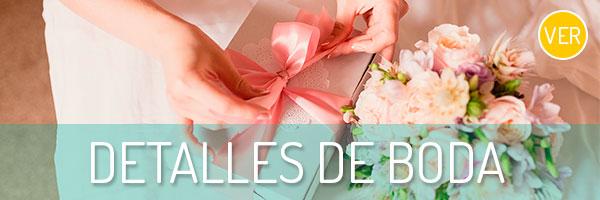 Tienda on-line de detalles de boda para invitados.