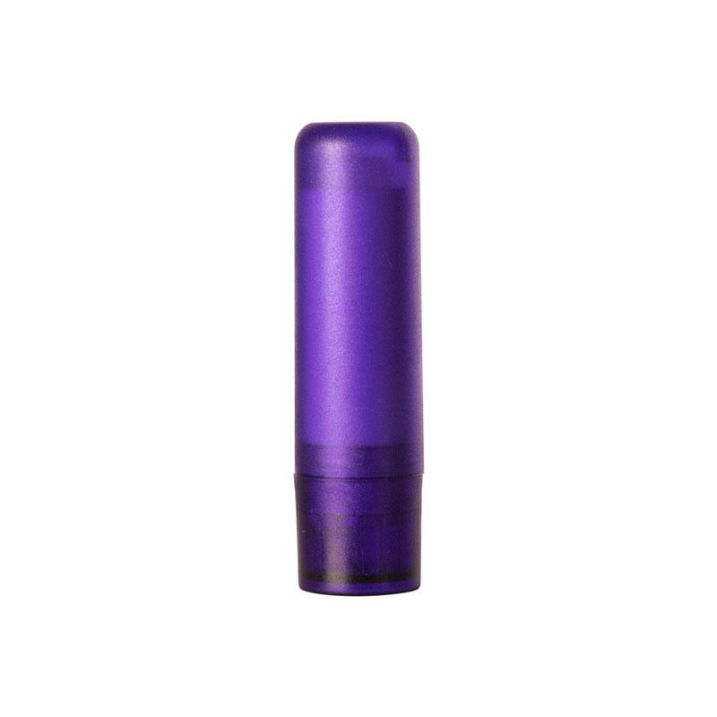 Bálsamo labial tipo stick. Modelo violet. 7cm.