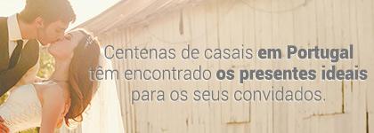 Centenas de casais em Portugal têm encontrado os presentes ideais para os seus convidados.