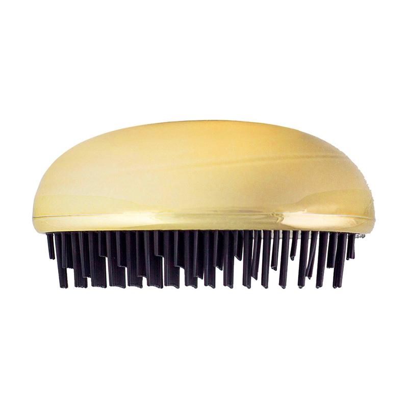 Cepillo de pelo. Modelo Woman. Metalizado. En cajita pvc. 4 colores
