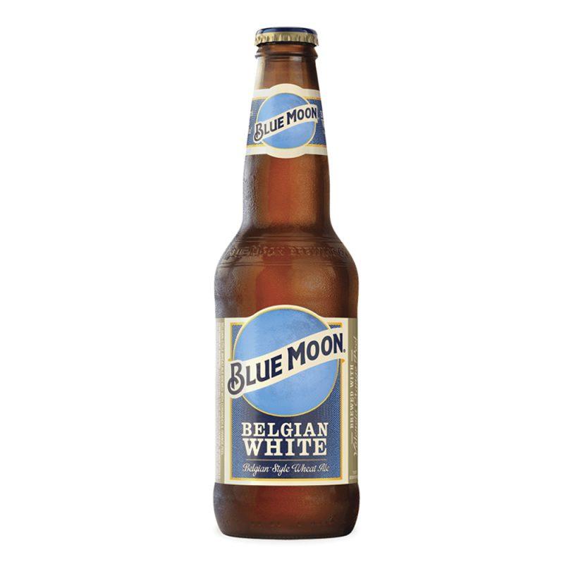 Cerveza artesanal para bodas. Blue Moon. 33cl. En pack de 12.