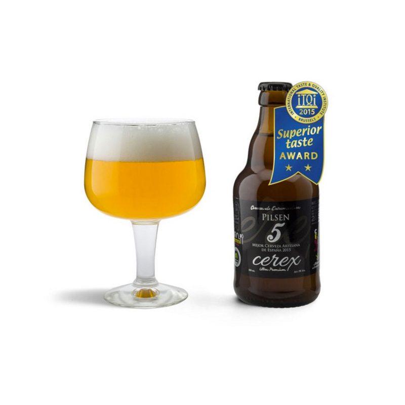 Cerveza artesanal para bodas cerex pilsen