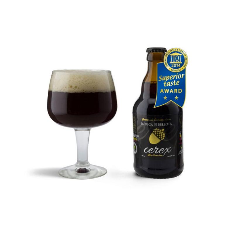 Cerveza artesanal Cerex ibérica de bellota