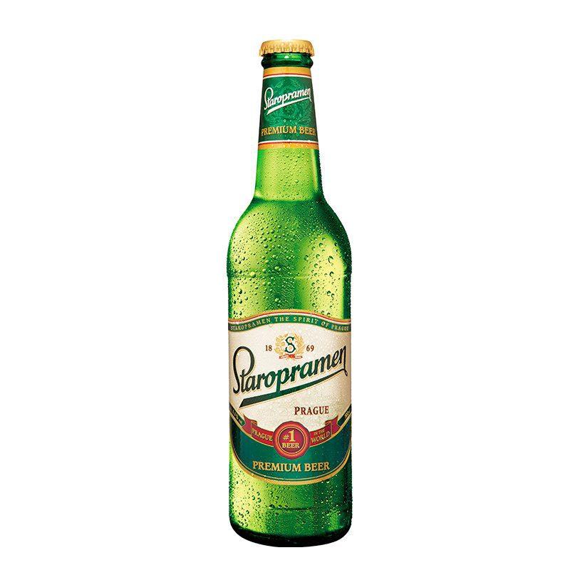 Cerveza para regalar a tus invitados de boda. Praga. Staropramen.