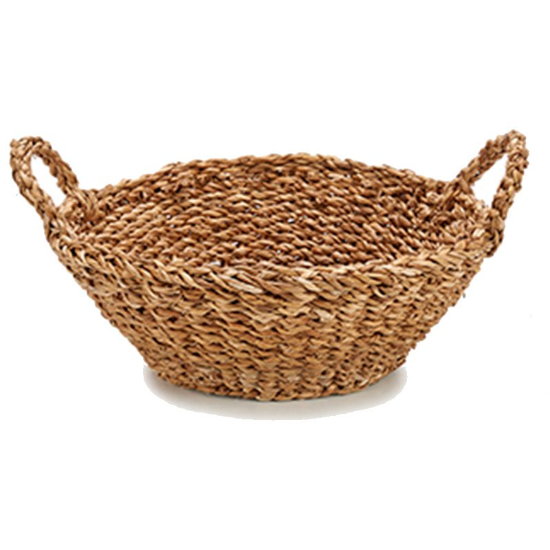 Ultimos regalos para invitados añadidos cesto con asa ovalado portatodo