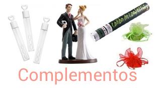 Complementos para boda