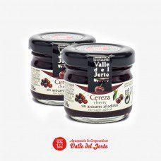 confitura en miniatura sabor cereza