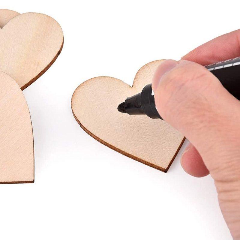 Pack 50 corazones de madera, especial bodas, varios tamaños, opción de personalizarlos corazones madera bodas para escribir