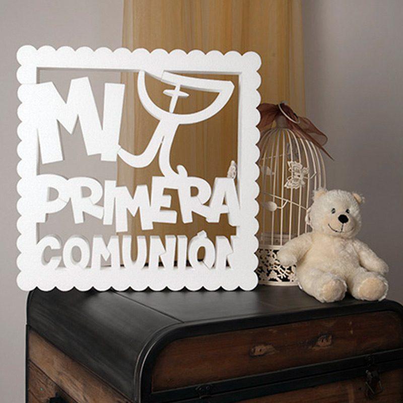 "Corcho para comunión ""mi primera comunión"""