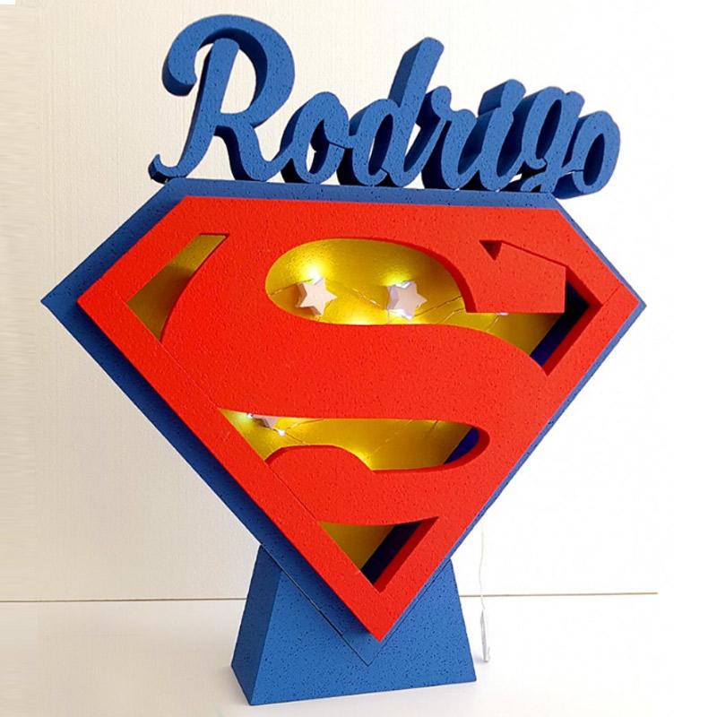 Ultimos regalos para invitados añadidos corcho personalizado superman