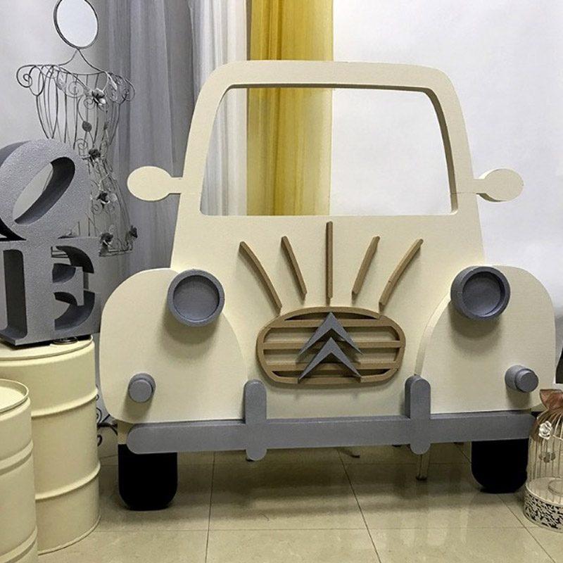 Corcho photocall Citroën 2cv. 145cm x 149cm