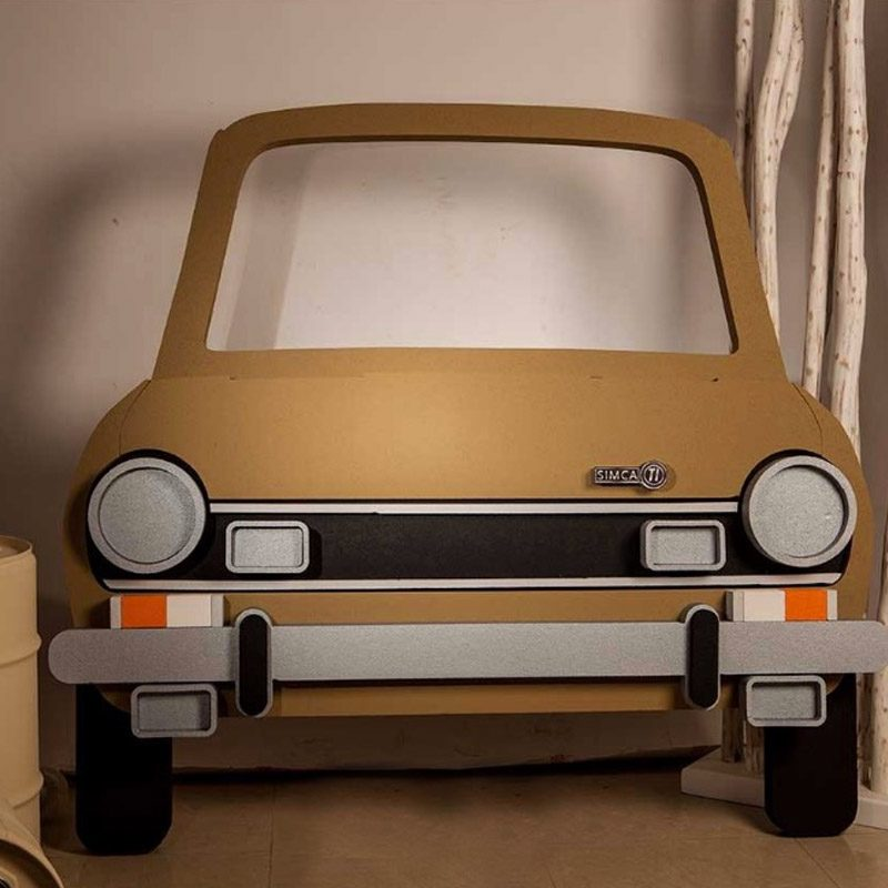 Corcho photocall Simca 1200. 149cm x 145cm