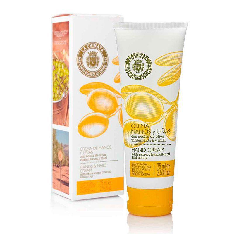 Crema de manos y uñas. 75ml. Aceite de oliva virgen extra y miel.