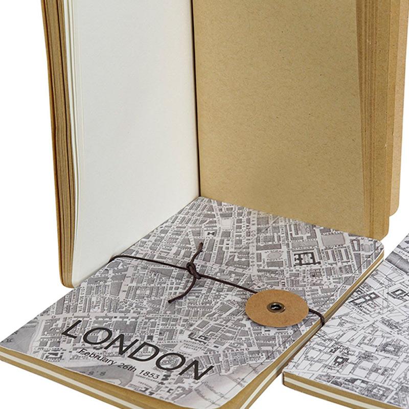 Libreta cartón. Ciudades europeas. 10x14cm. Surtidas.