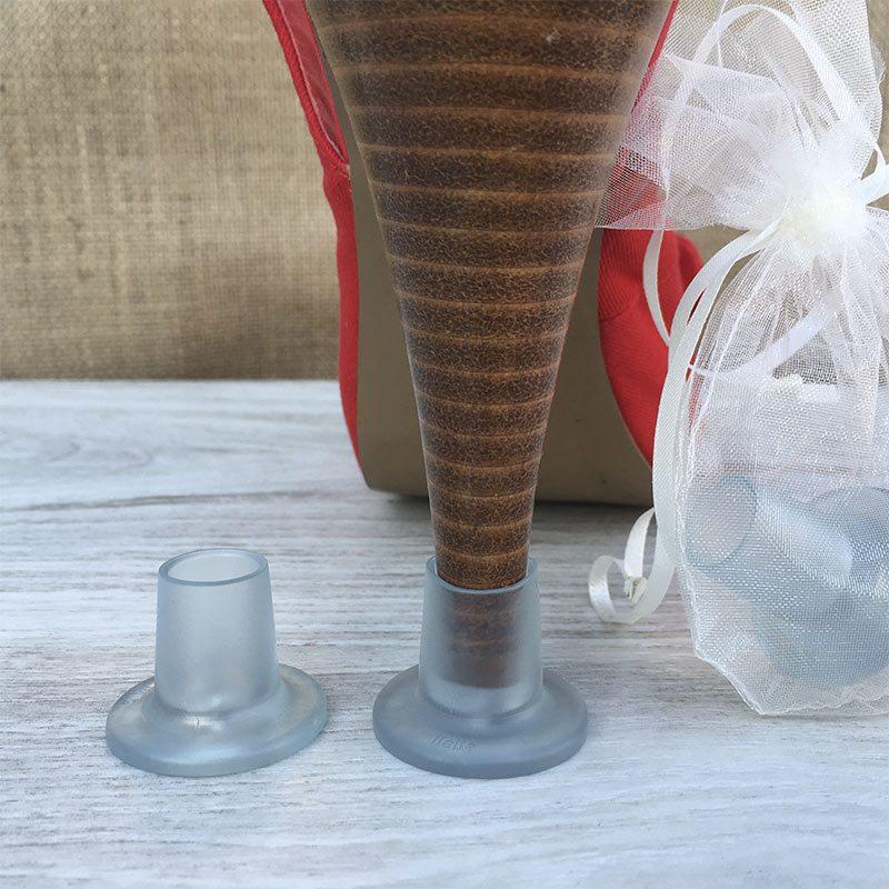 Cubretacones para bodas y eventos, son redondos y tienen talla única.