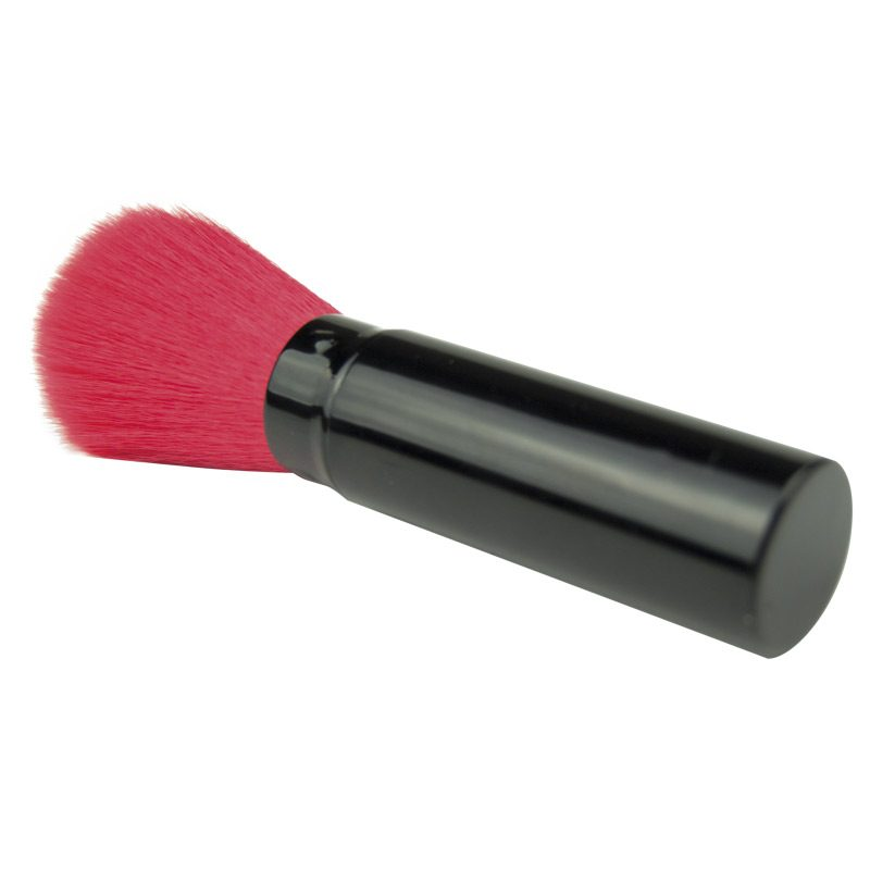 Brocha para maquillaje metálica retráctil. Diferentes colores. detalles de boda brocha maquillaje 2