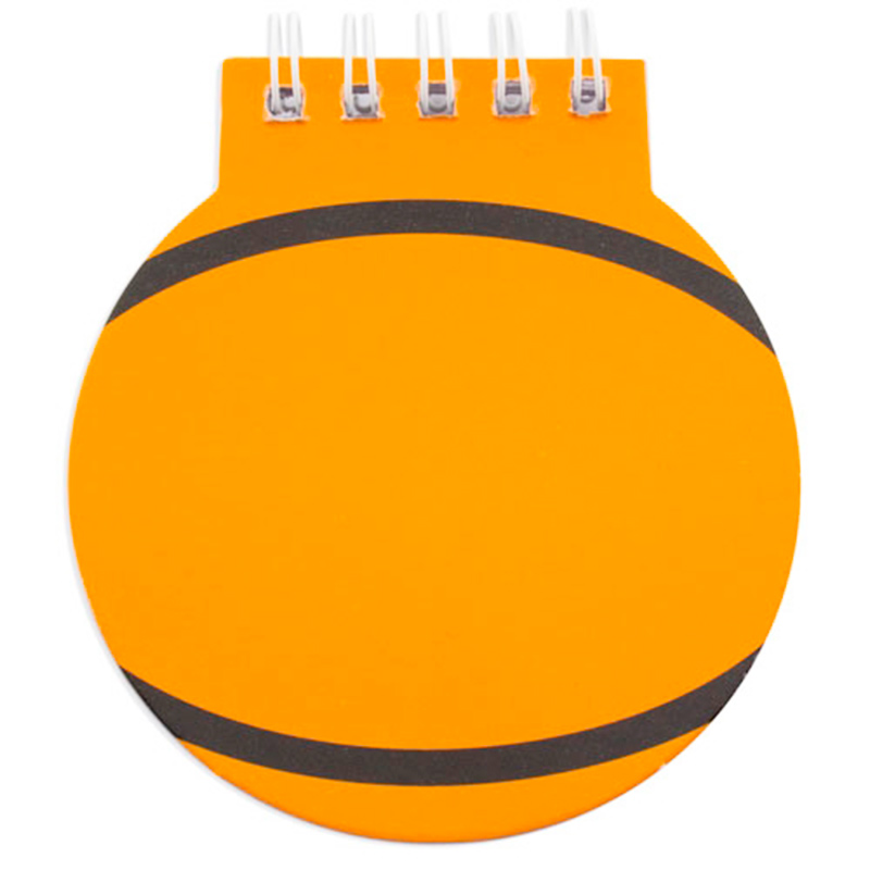 Divertidas libretas deportivas modelo baloncesto