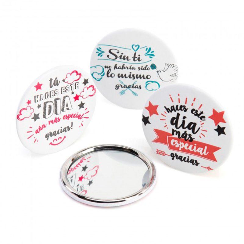 Espejo con frases de agradecimiento para invitados espejo con frases de agradecimiento para invitados detalles de boda detalles para comunion
