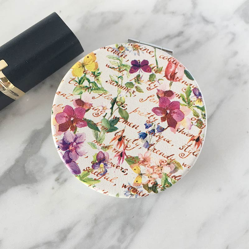 espejo de bolso glam