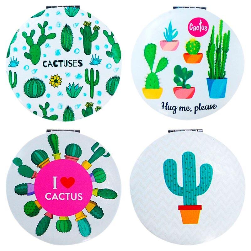 Espejo doble Cactus