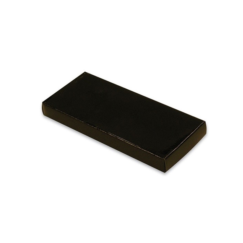 Cajita negra de presentación para llaveros