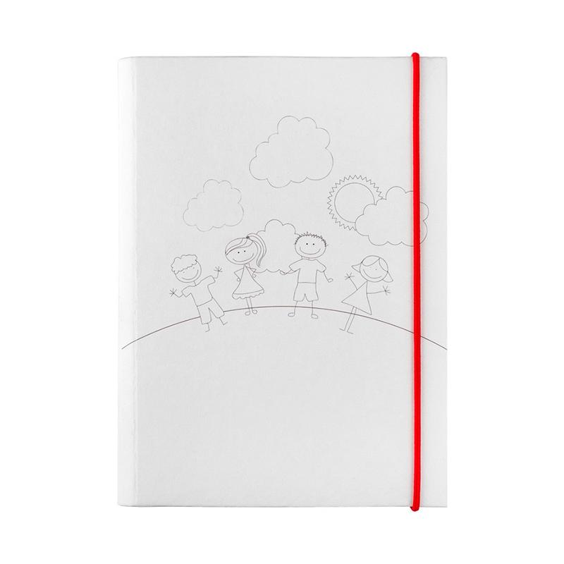 Estuche set de pinturas en forma de libro