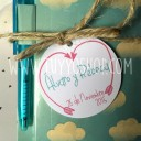 etiqueta para decorar regalos de boda