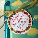 etiqueta para boda personalizada
