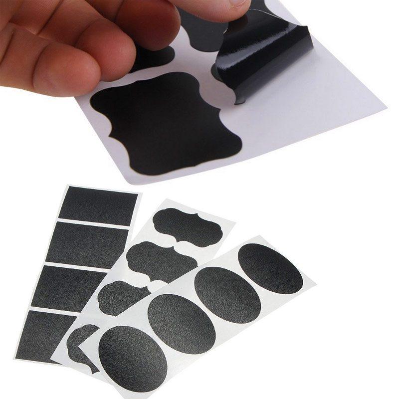 etiqueta pizarra adhesiva
