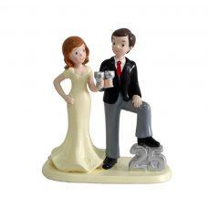 figura para pastel de boda 25 aniversario