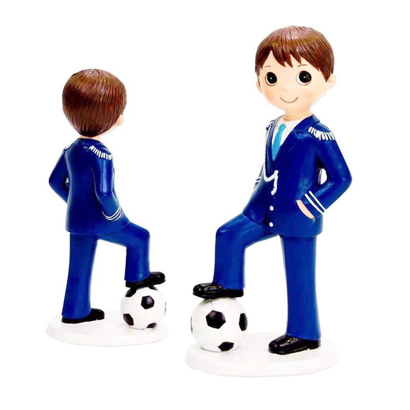 Figura pastel niño marinero fútbol. 17cm figura pastel nino marinero futbol 17cm comunion