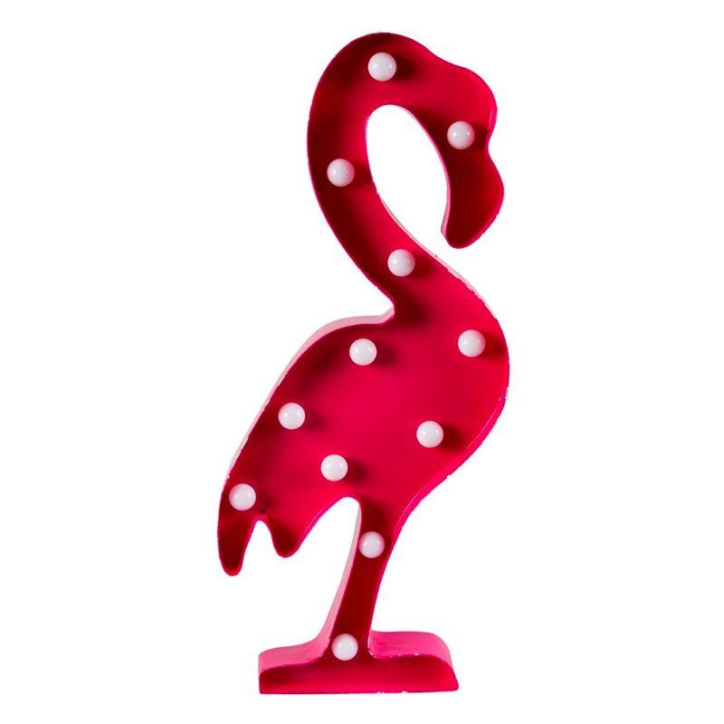 Flamenco decorativo con iluminación led