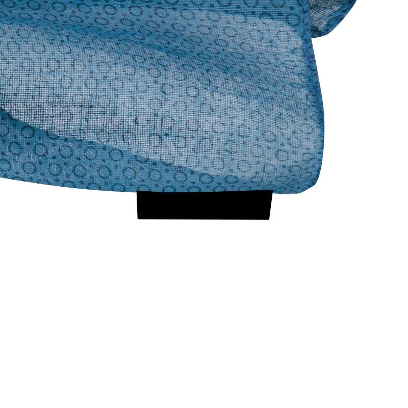 Nuevo foular de algodón para boda. Modelo Circulos. 3 colores.