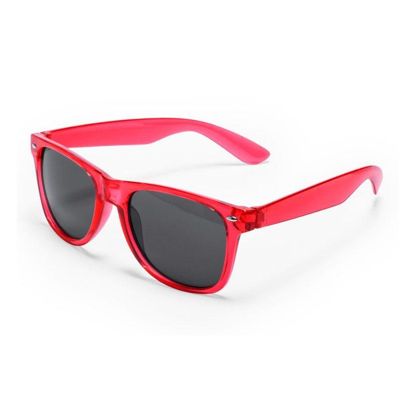 Gafas de sol para boda. Rojas. Protección uv400