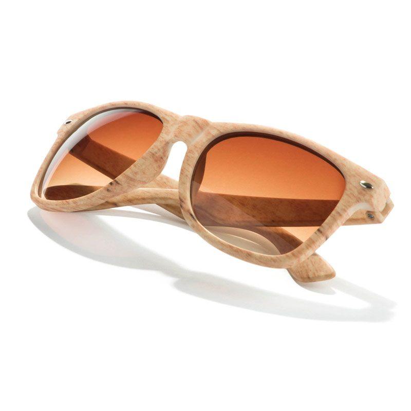 Gafas de sol. Imitación madera. Protección UV400