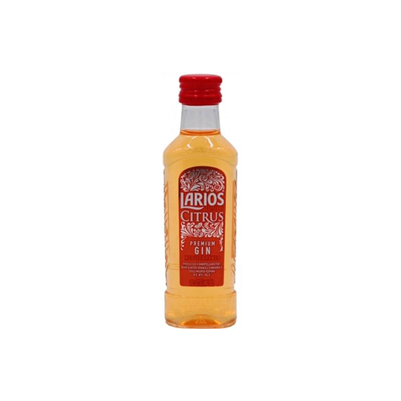 Miniatura de ginebra Larios Citrus.