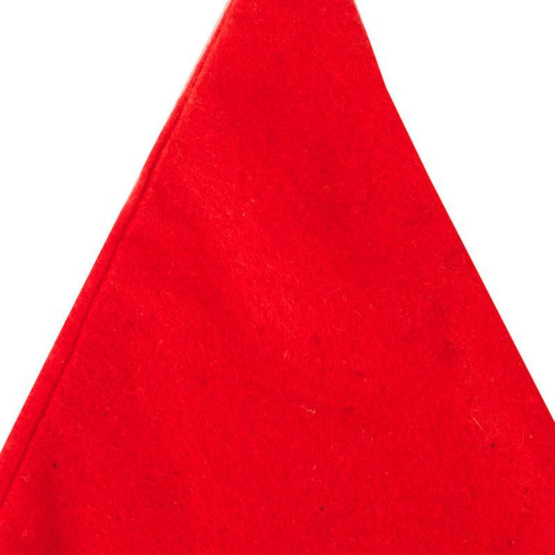 Gorro de papa noel en color rojo