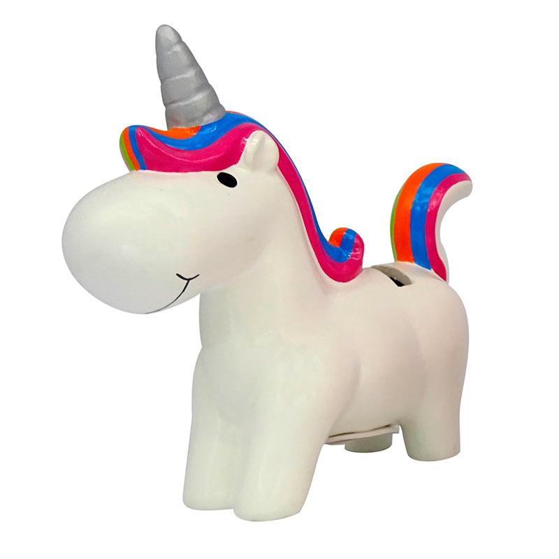 Hucha para comuniones. Happy unicornio. Surtidas.