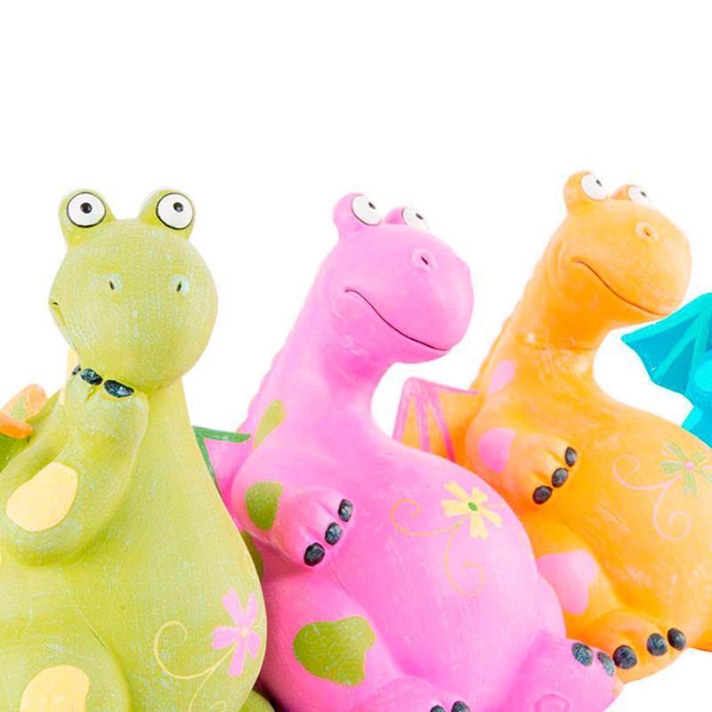 Hucha de cerámica dragón