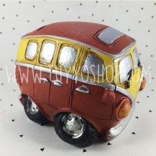 hucha modelo furgoneta hippy