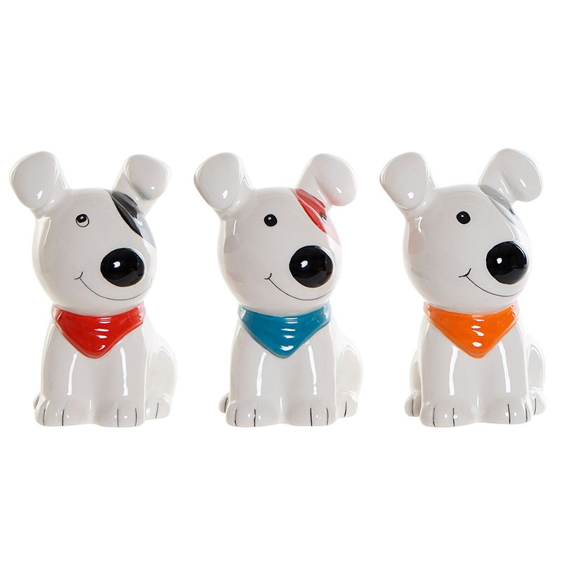Hucha perrito feliz en 3 colores