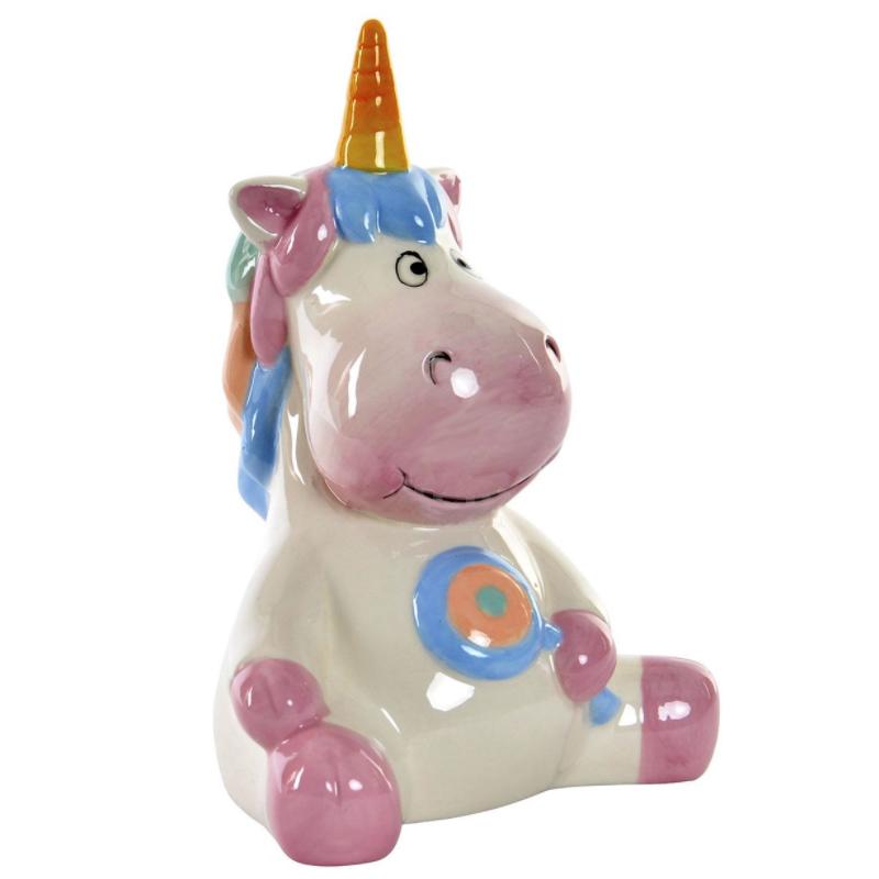 Hucha Unicornio en colores pastel
