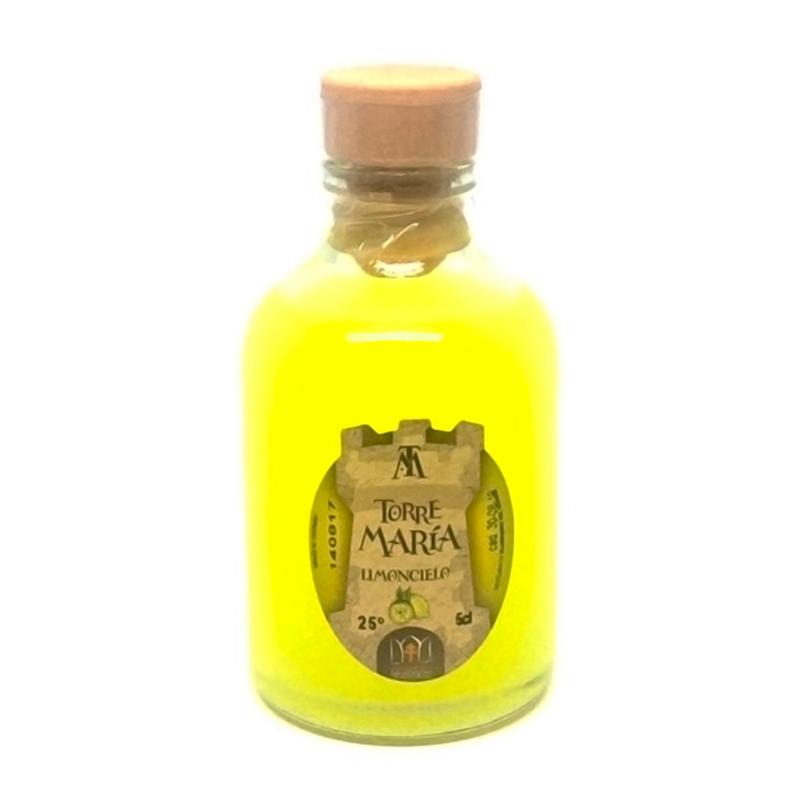 Licor de orujo redonda sabor limón 50ml detalles de boda