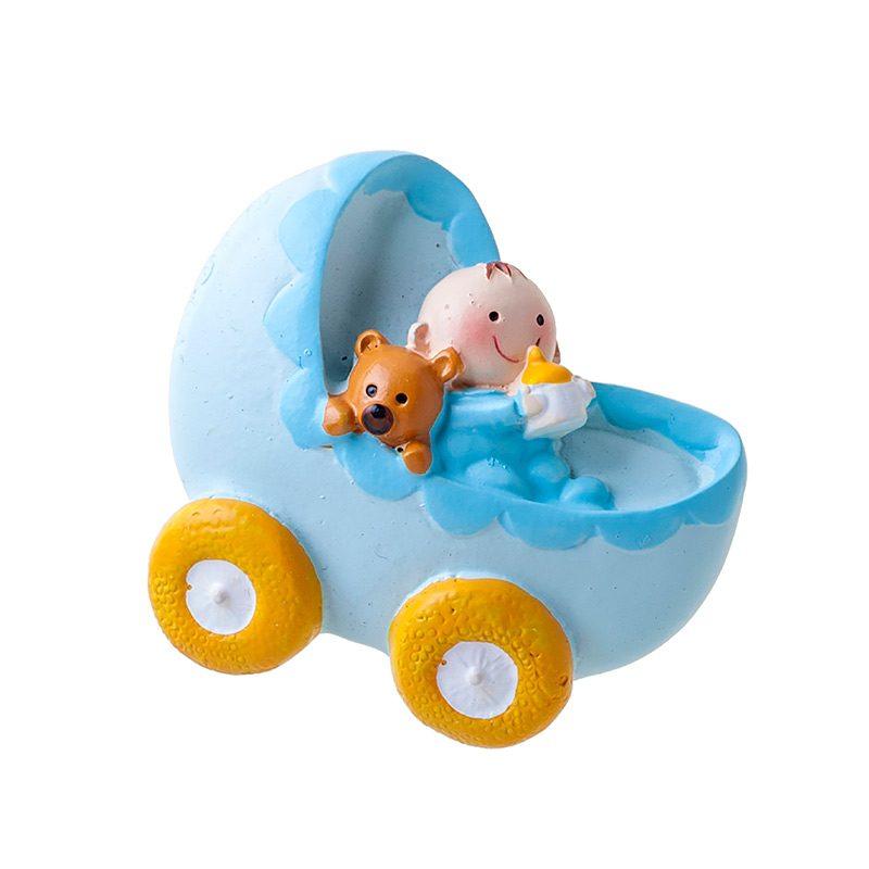 Imán para bautizo, carrito bebé niño iman para bautizo carrito bebe nino