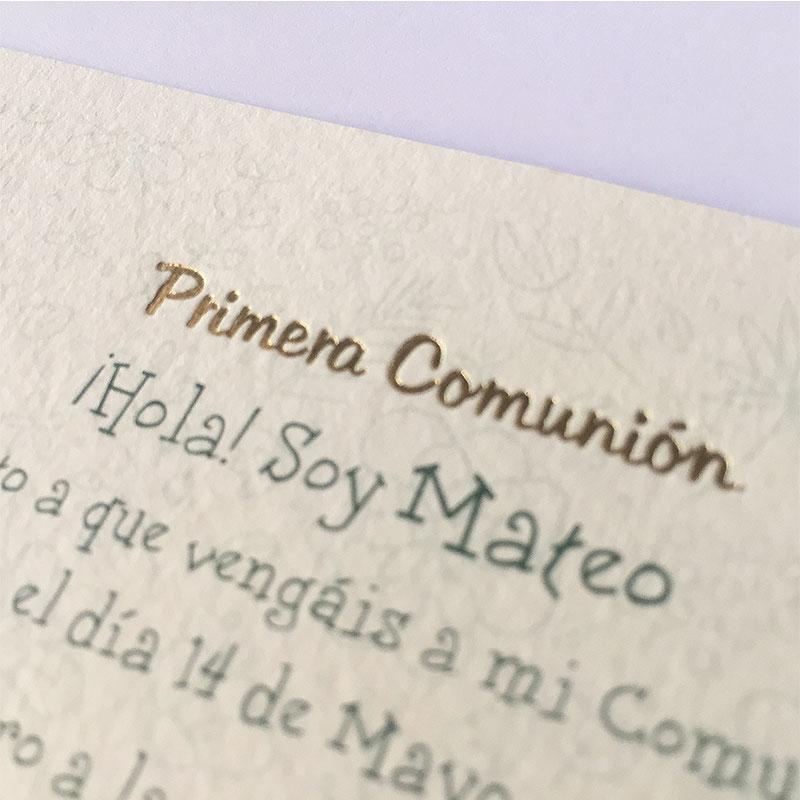 Invitación mi comunión 413.727