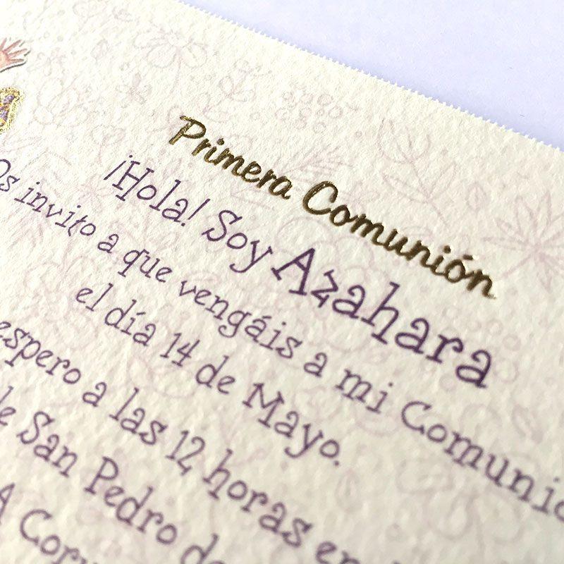 invitación mi comunión niña 413.728