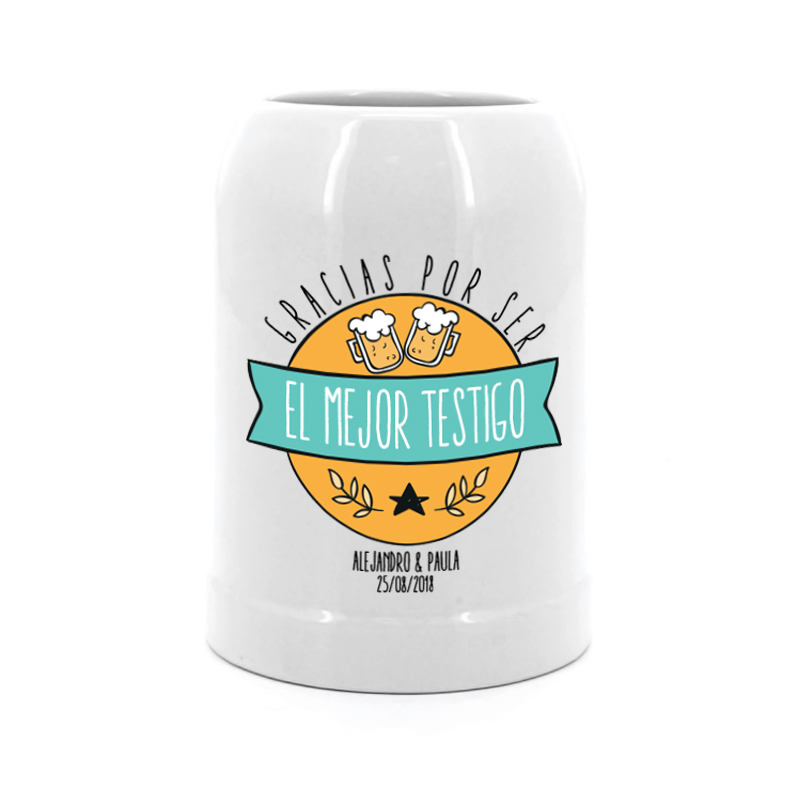 Jarras de cerveza personalizadas